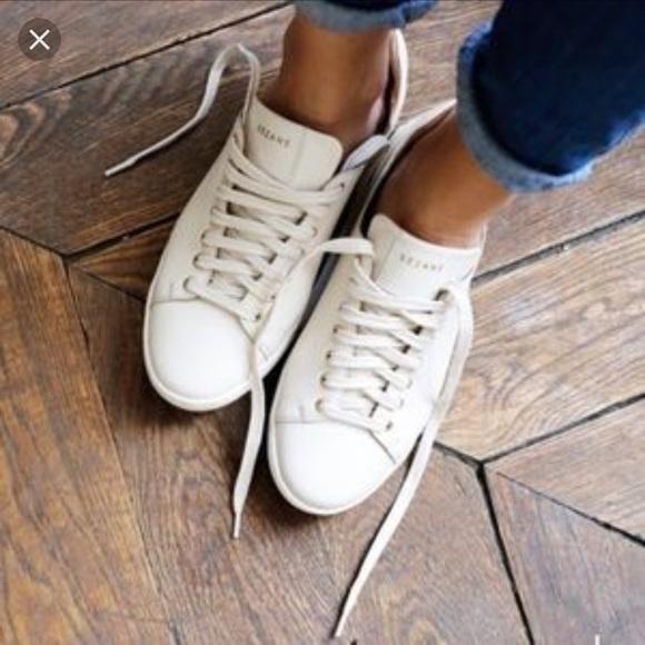 9ec322769af5b6 Sezane Jack sneakers in ecru. M_5a8af4f69cc7ef15d103954d